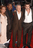 Colin Farrell,Elizabeth Rodriguez,Jamie Foxx,Michael Mann Stock Image