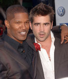 Colin Farrell,Jamie Foxx Royalty Free Stock Images