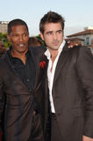 Colin Farrell,Jamie Foxx Royalty Free Stock Photos