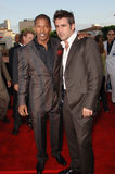 Colin Farrell,Jamie Foxx Stock Photography