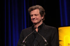 Colin Firth Photo libre de droits