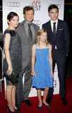 Colin Firth, Ginnifer Goodwin, Nicholas Hoult and Ryan Simpkins Royalty Free Stock Images