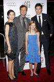 Colin Firth, Ginnifer Goodwin, Nicholas Hoult and Ryan Simpkins Royalty Free Stock Photos
