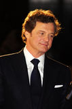 Colin Firth At The King's Speech Royalty Free Stock Photos