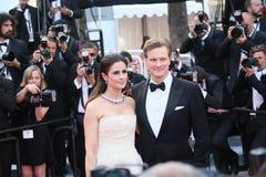 Colin Firth, Livia Firth Stock Image