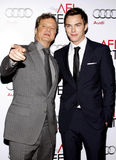 Colin Firth and Nicholas Hoult Royalty Free Stock Photo