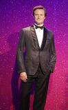 Colin Firth. Wax statue at Madame Tussauds in London royalty free stock photography