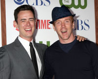 Colin Hanks, Damian Lewis Royalty Free Stock Photo