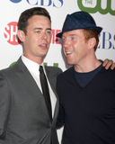 Colin Hanks, Damian Lewis Stock Images