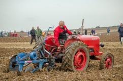 Colin Hewetson, laboureur Photos stock