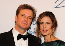 Colin and Livia Firth Stock Image