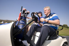 Colin Montgomerie Leads Europe To Victory Royalty Free Stock Photography