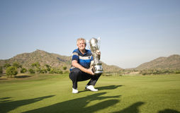 Colin Montgomerie Leads Europe To Victory Royalty Free Stock Photo