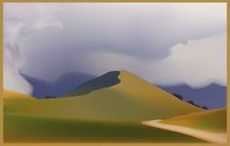 colina Stock de ilustración