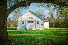 Colina Baptist Church Richmond Texas del roble Imagen de archivo