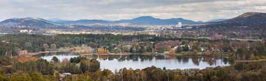 Colina Canberra de los granjeros de lechería Imagenes de archivo