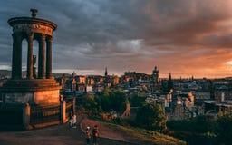 Colina de Calton, Edimburgo fotos de archivo libres de regalías