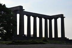 Colina de Calton, Edimburgo Imágenes de archivo libres de regalías