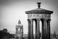 Colina de Carlton en Edimburgo foto de archivo