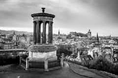 Colina de Carlton en Edimburgo imagen de archivo libre de regalías