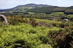 Colina de Croughaun Imagen de archivo libre de regalías