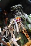 Colina de cruces Fotografía de archivo libre de regalías