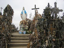 Colina de cruces Fotografía de archivo