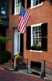 Colina de faro, Boston Imagen de archivo libre de regalías