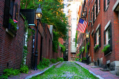 Colina de faro, Boston foto de archivo