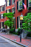 Colina de faro, Boston fotografía de archivo