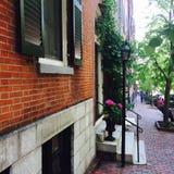 Colina de faro Boston Imagenes de archivo