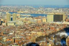 Colina de faro, Boston, Massachusetts fotografía de archivo