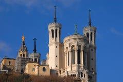 Colina de Fourviere, Lyon Fotografía de archivo