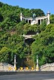 Colina de Gellert en Budapest Foto de archivo libre de regalías