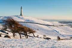 Colina de Hoad en invierno Imagen de archivo libre de regalías