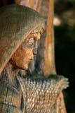 Colina de la bruja en Lituania Fotos de archivo