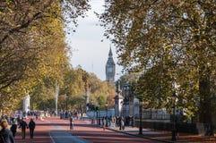 Colina de la constitución en Londres en un día soleado del otoño Fotografía de archivo libre de regalías