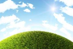 Colina de la hierba Foto de archivo libre de regalías