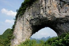 Colina de la luna, China Fotos de archivo libres de regalías
