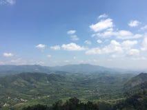 Colina de la monta?a del yala de Betong en Tailandia imagen de archivo
