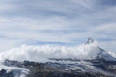 Colina de la nieve Foto de archivo