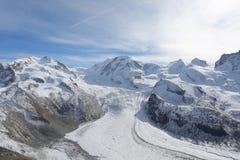 Colina de la nieve Imagen de archivo