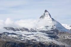 Colina de la nieve Foto de archivo libre de regalías