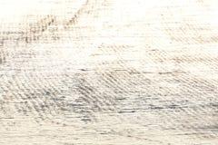 Colina de la nieve con las rayas en campo imágenes de archivo libres de regalías