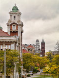 Colina de la universidad de Syracuse foto de archivo