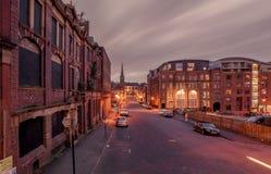 Colina de Ludgate, cuarto de la joyería, Birmingham Imagenes de archivo