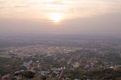 Colina de Mandalay Foto de archivo libre de regalías