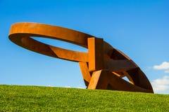 Colina de Mississauga de la escultura Fotos de archivo