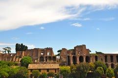 Colina de Palatine en Roma Imagen de archivo libre de regalías