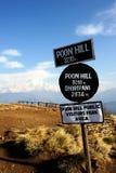 Colina de Poon, Nepal Fotografía de archivo libre de regalías